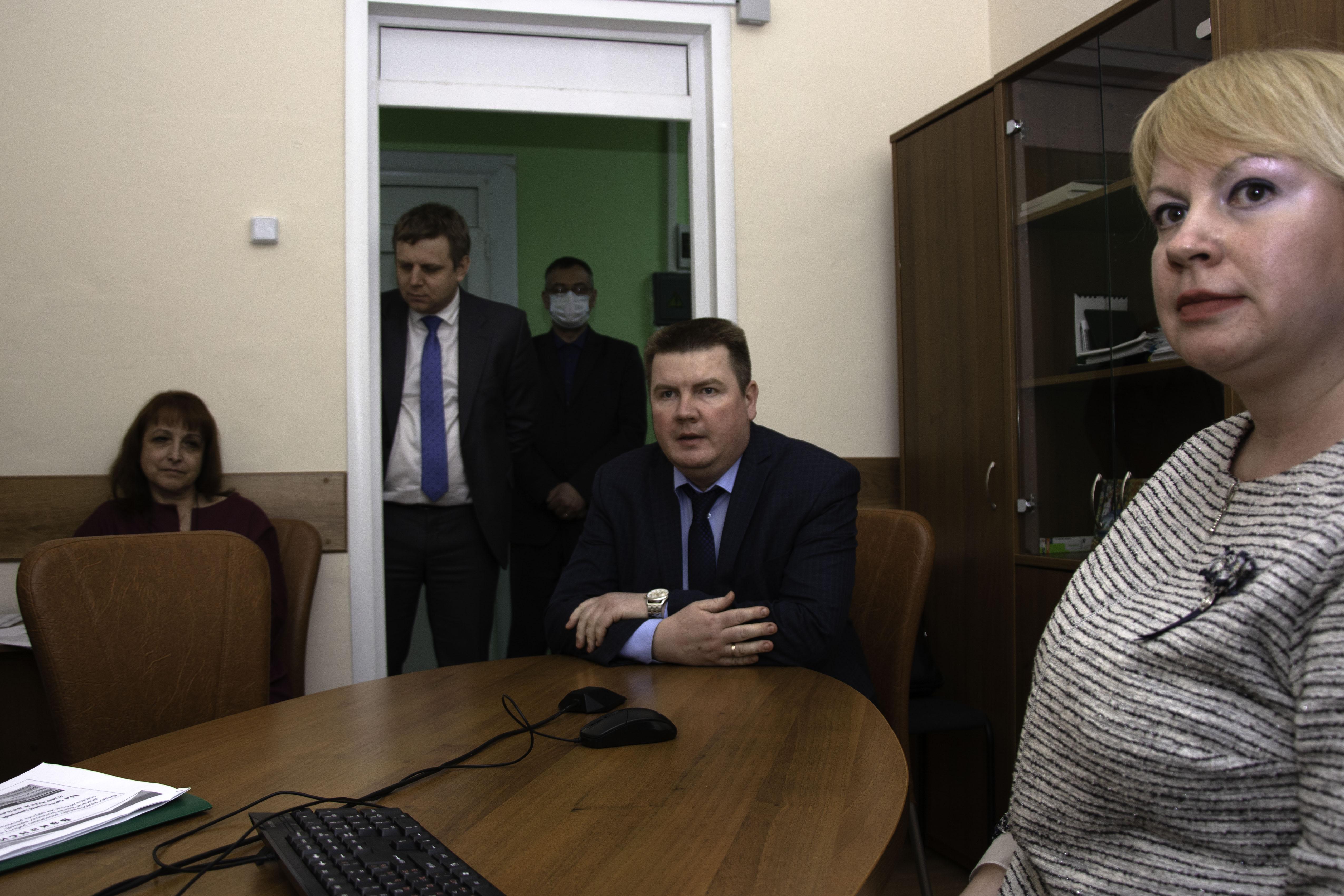 Ярмарка вакансий со студентами из Санкт-Петербурга